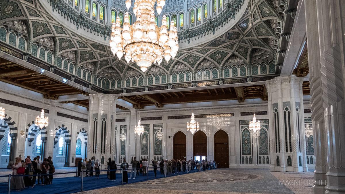 Meczet Sułtana Qaboosa wMuscacie
