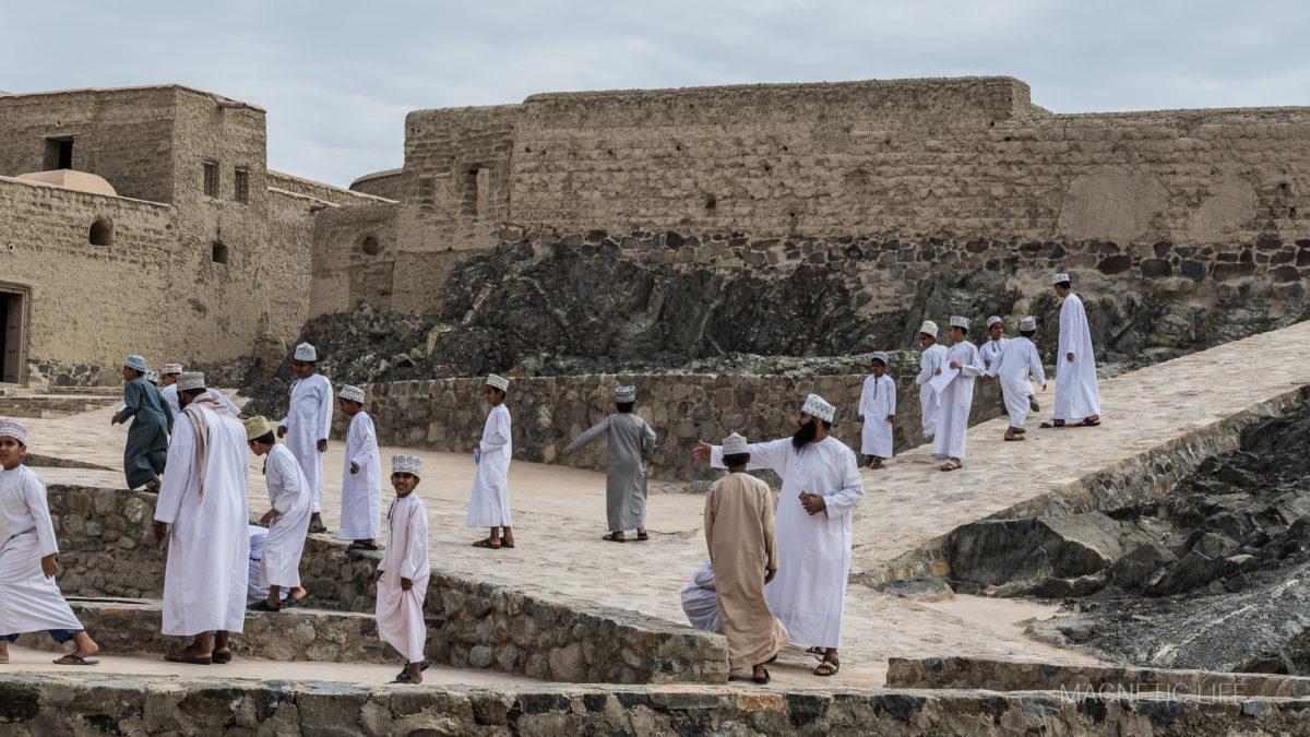 Fort Bahla - wycieczka szkolna