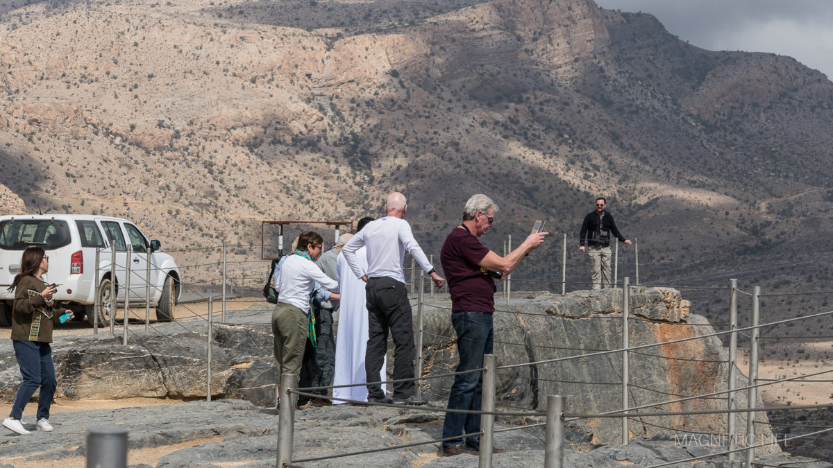 Platforma widokowa, Wielki Kanion Arabii