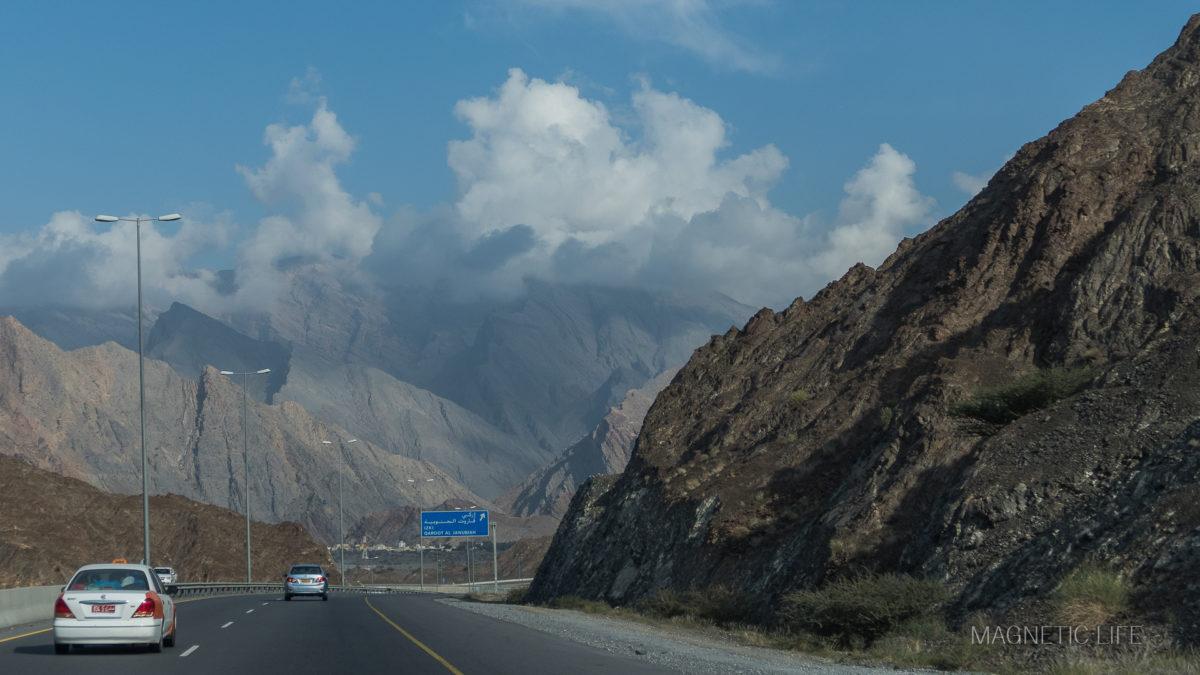 Oman - porady praktyczne. Droga doMuscatu
