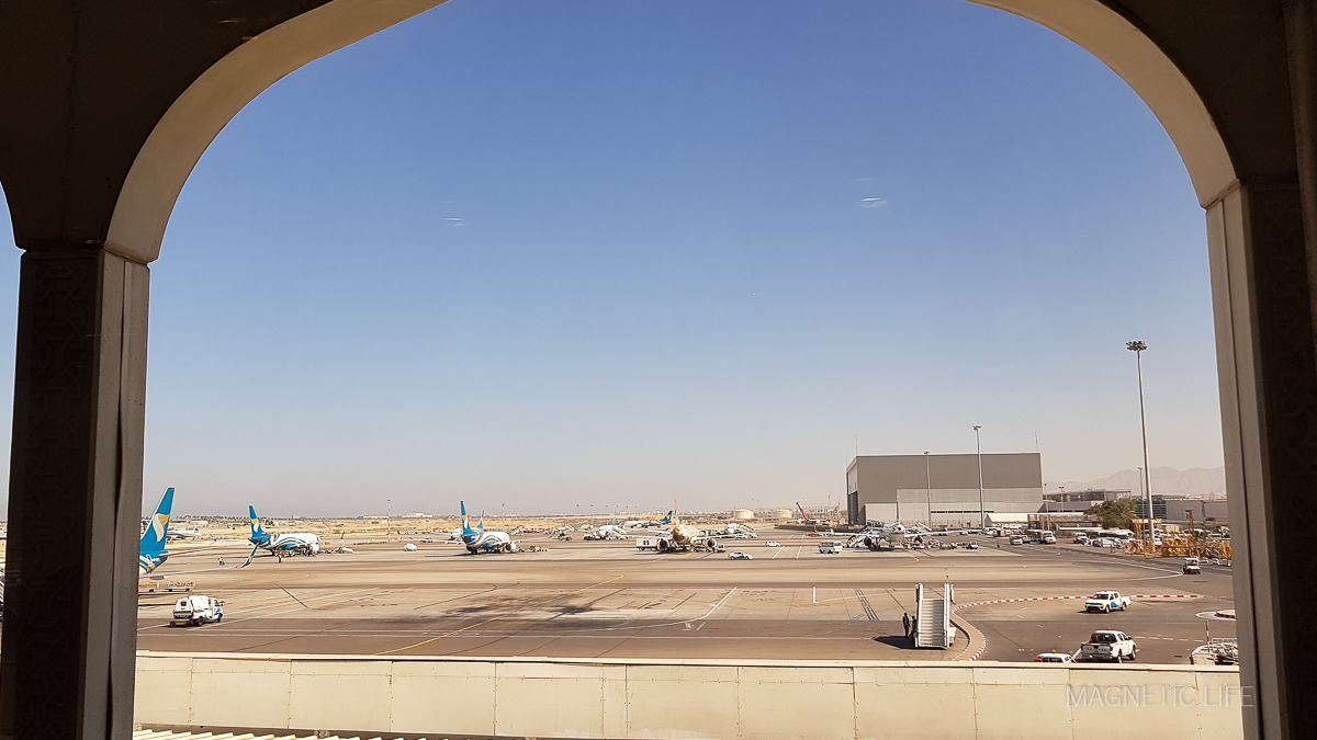 Muscat - lotnisko