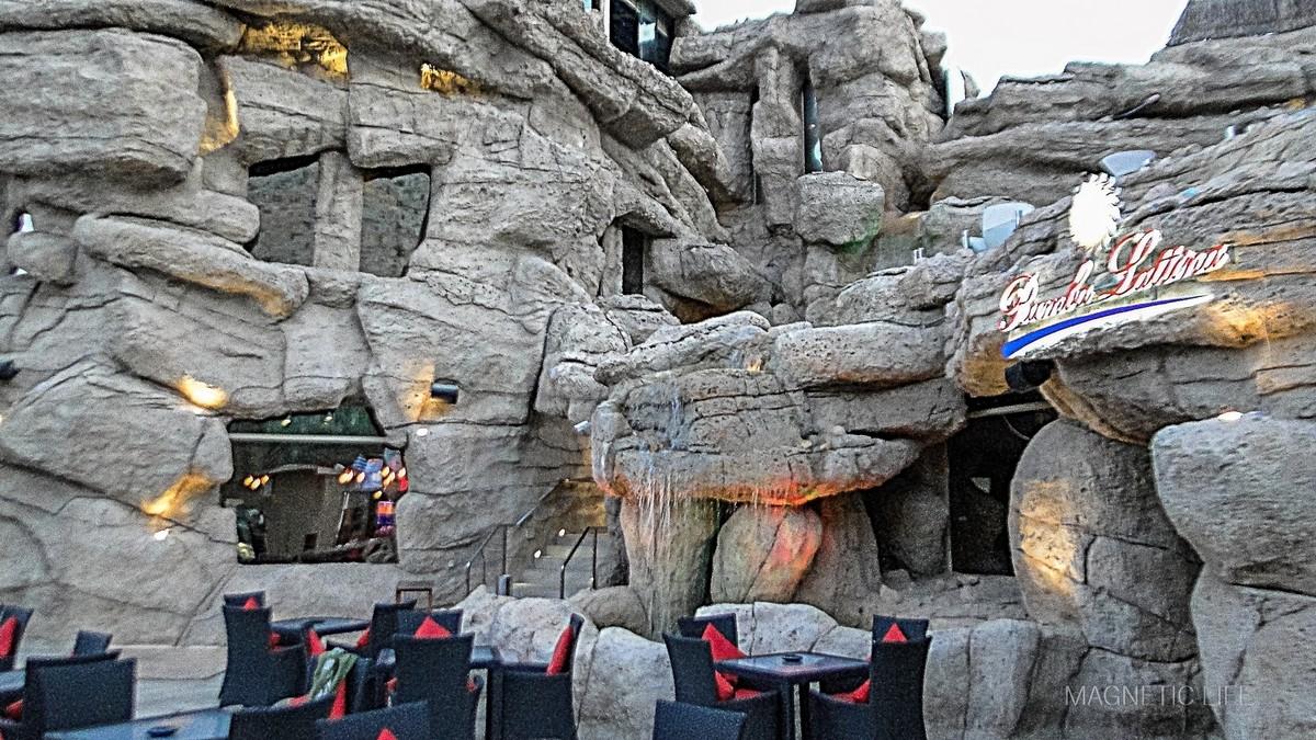 Muscat atrakcje turystyczne Wspaniała stylizacja Cave Restaurant Muscat