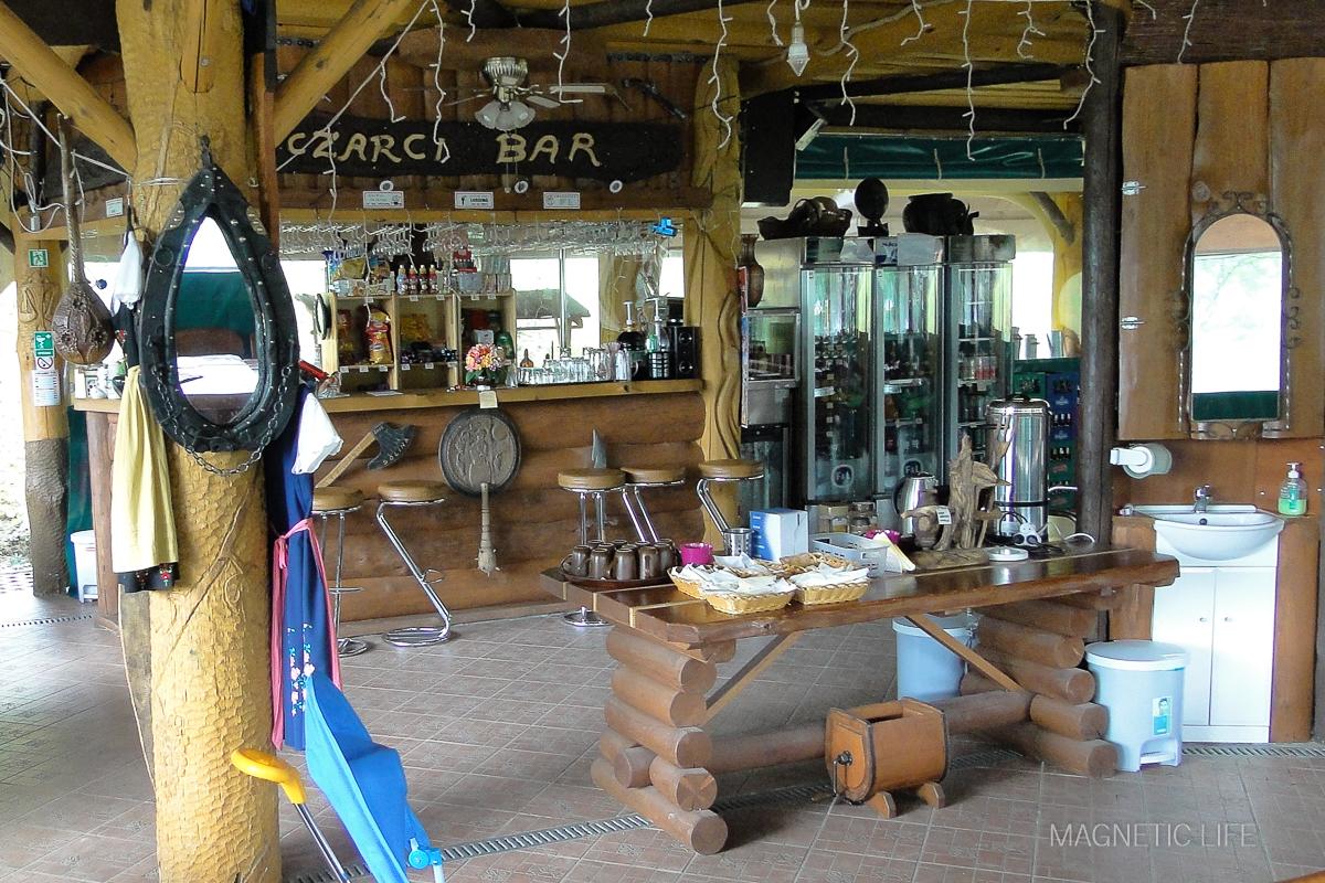 Restauracja nacampingu