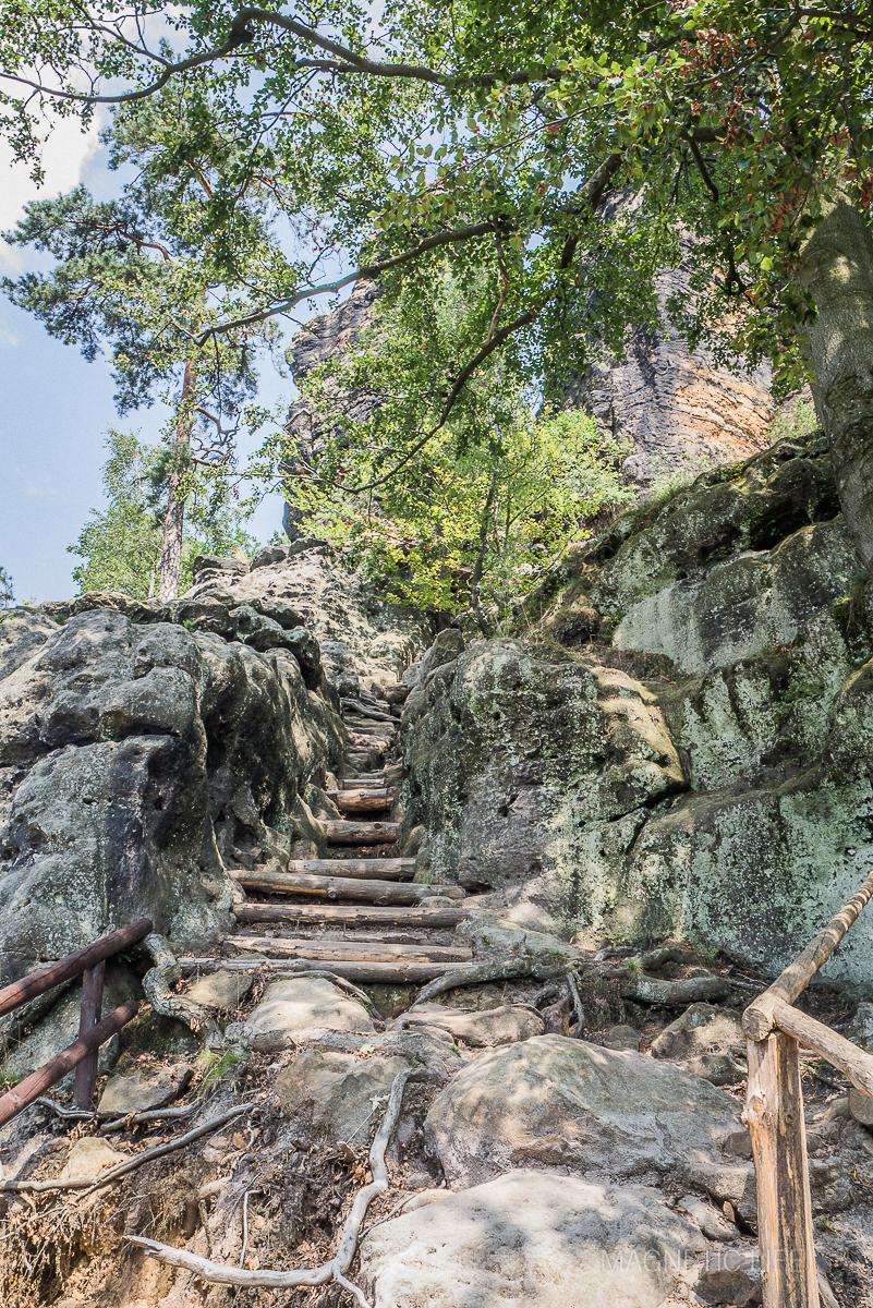 W drodze naRudolfuv kamen