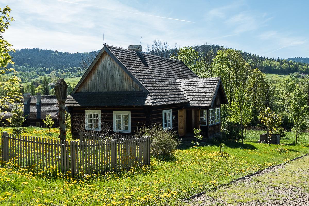 Etnopark wŚlemieniu. Chałupa zMiędzybrodzia Bialskiego