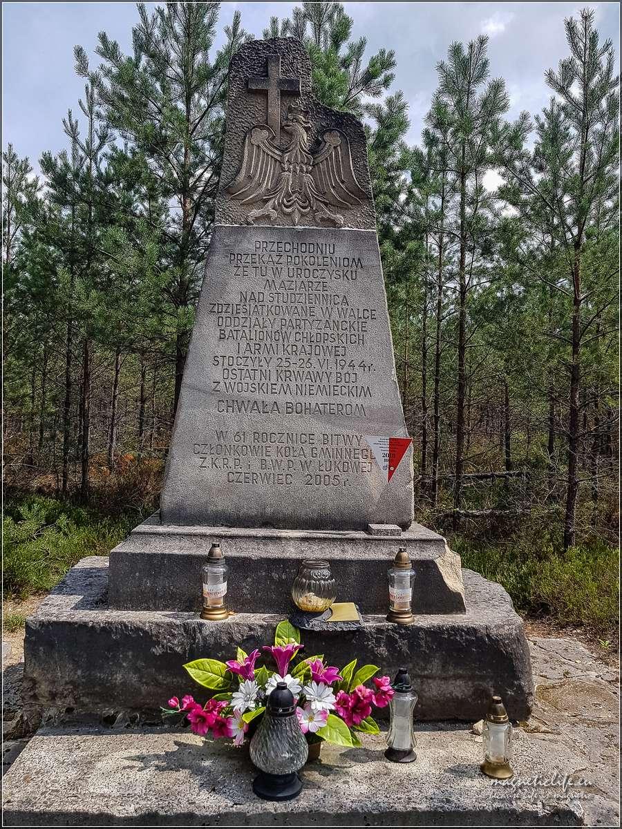 pomnik walk partyzanckich