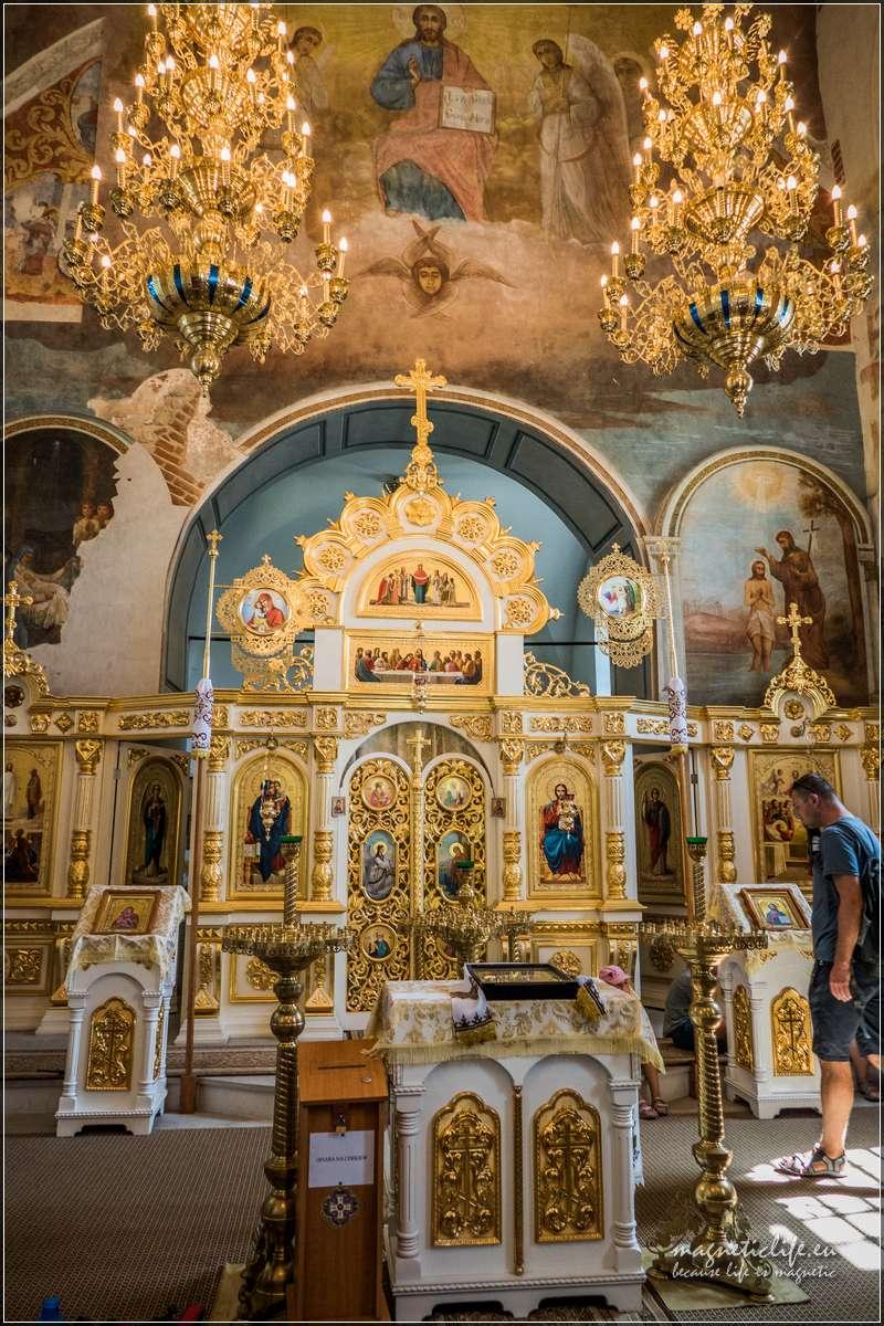 Szczebrzeszyn cerkiew wnętrze