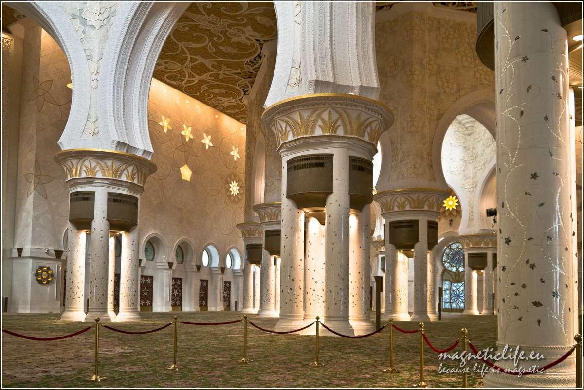 Wnetrze meczetu