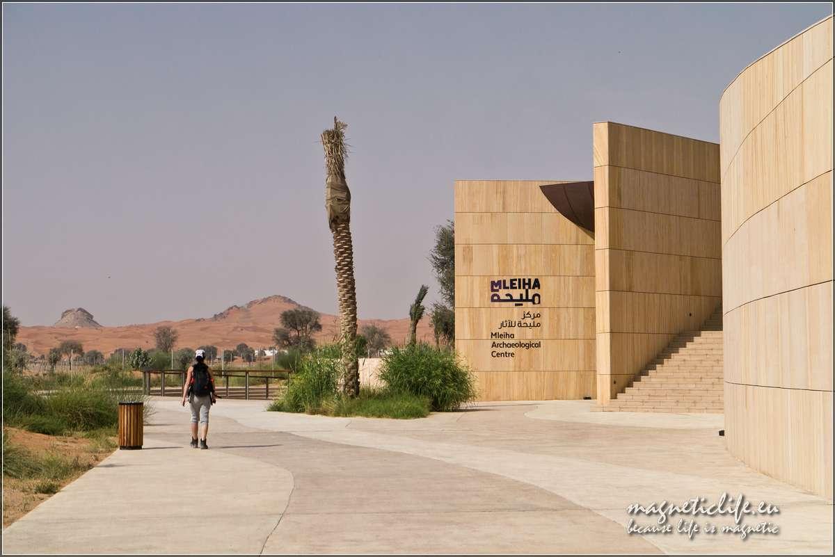 Atrakcje turystyczne emiratu Szardża. Mleiha Centrum Archeologiczne