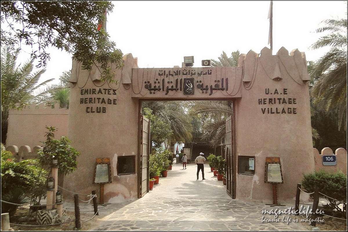 Wejście doHeritage Village