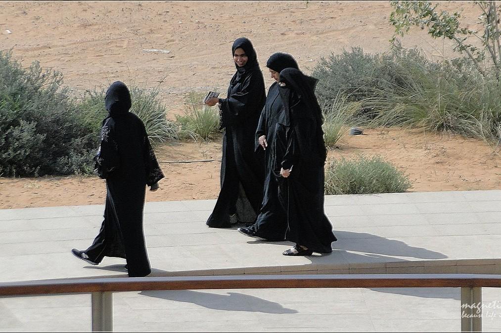 Kobiety arabskie wmuzeum