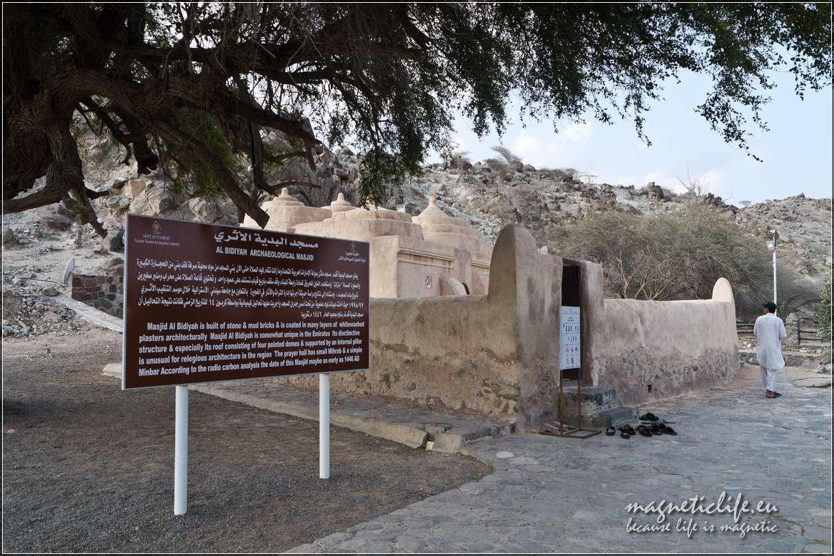 Wczasy wemiracie Fudżajra Al Badiyah Mosque