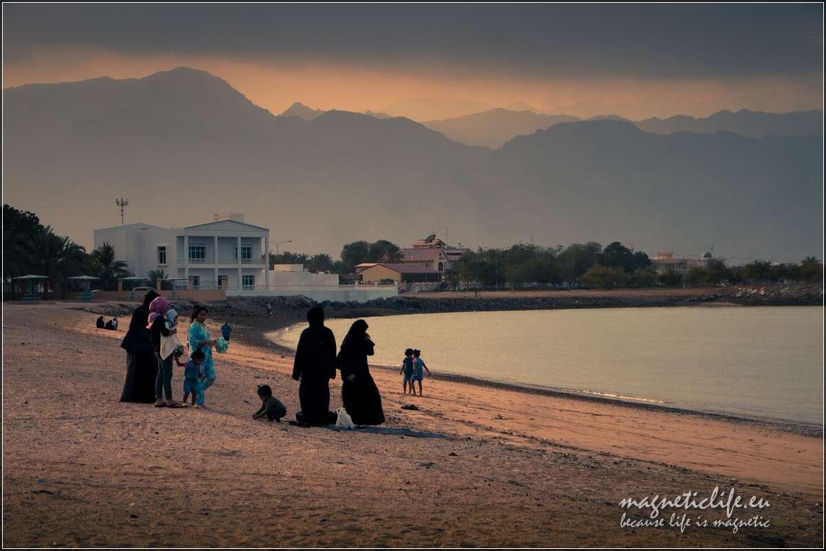Wczasy wEmiracie Fudżajra plaża Dibba