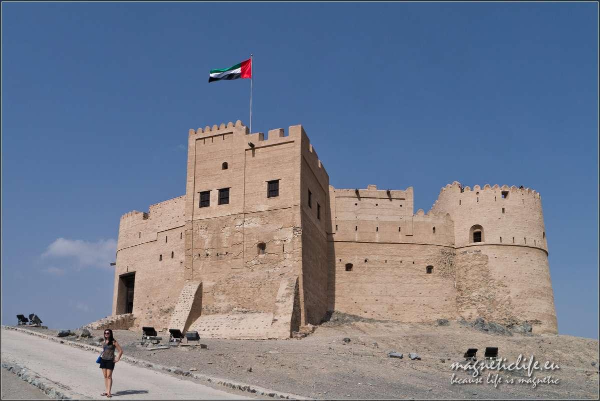 Wczasy wEmiracie Fudżajra fort