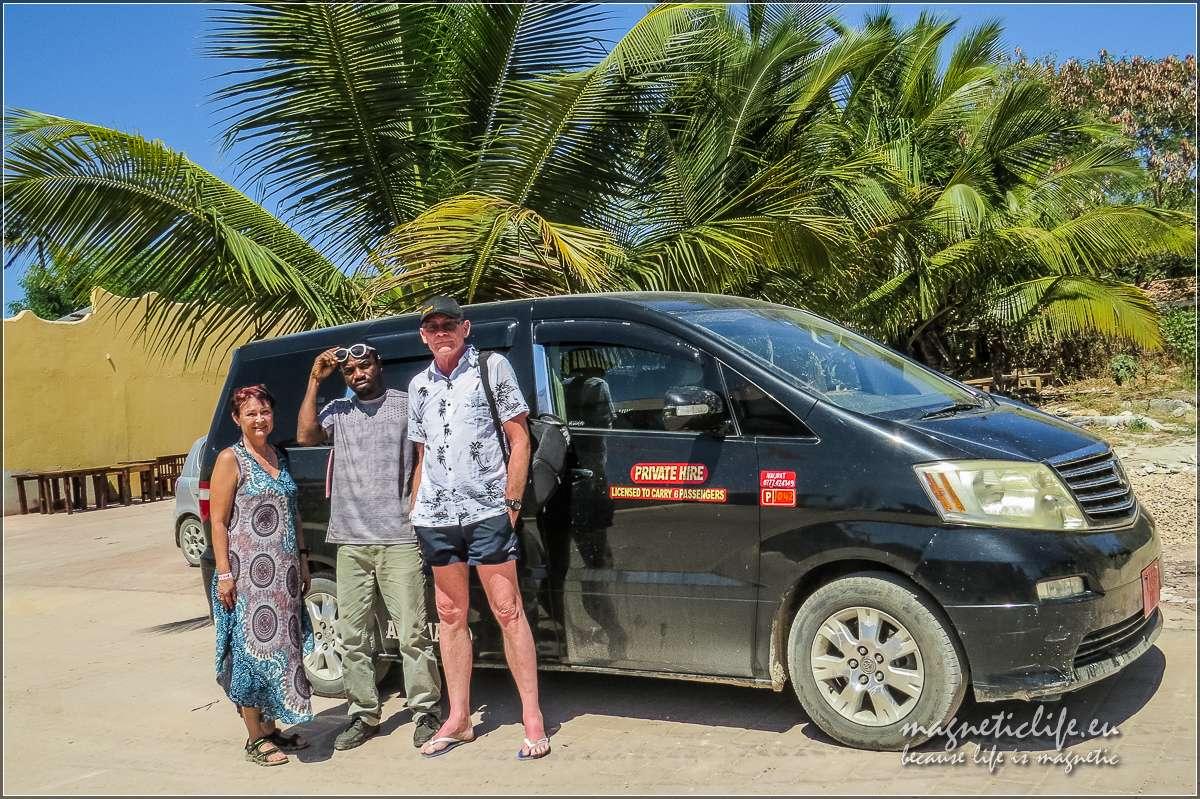 Zanzibar informacje praktyczne. Meki super taksówkarz