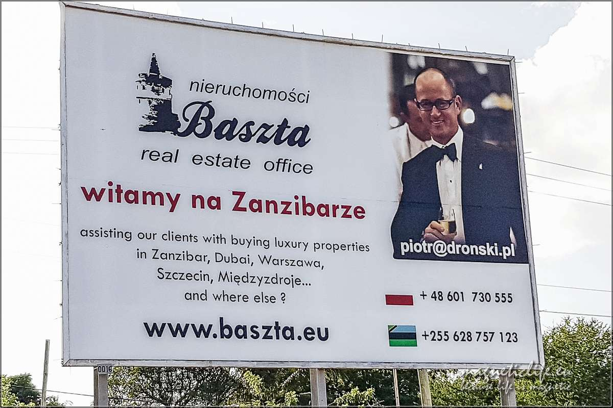 Zanzibar informaceje praktyczne Polacy są wszędzie