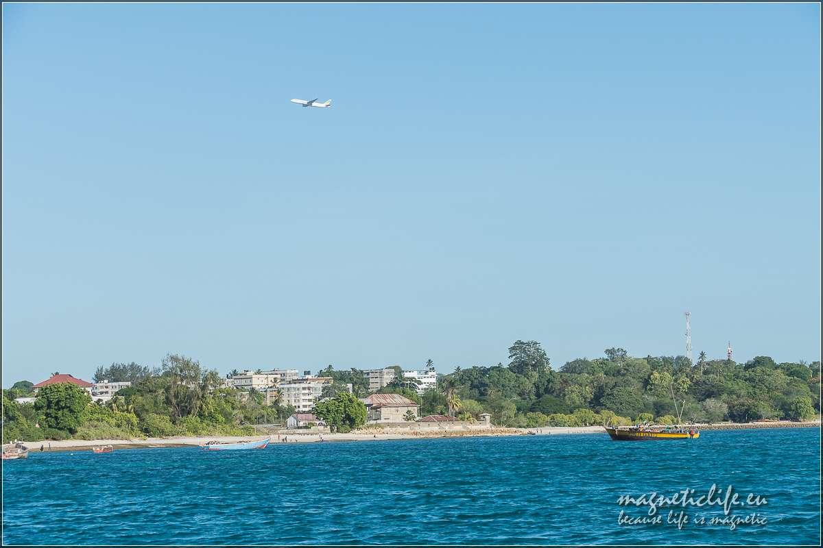 Zanzibar informacje praktyczne Samolot startuje