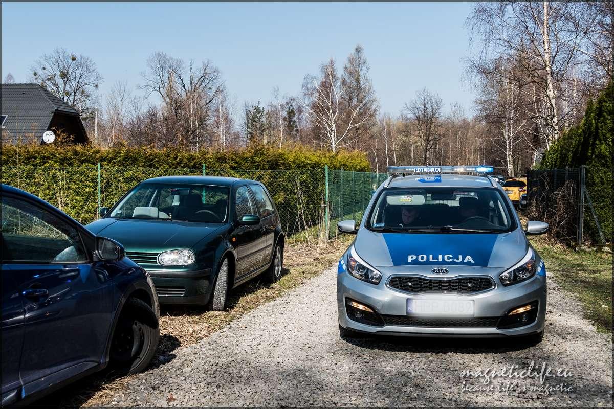 Brawurowa akcja policji. Światowy Dzień Wody Zapora Wapienica
