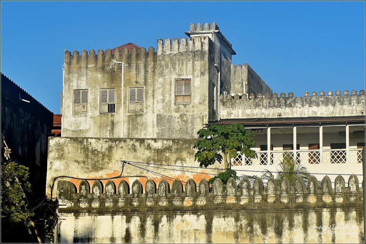 Freddie Mercury iStone Town Zanzibar pałac sułtana