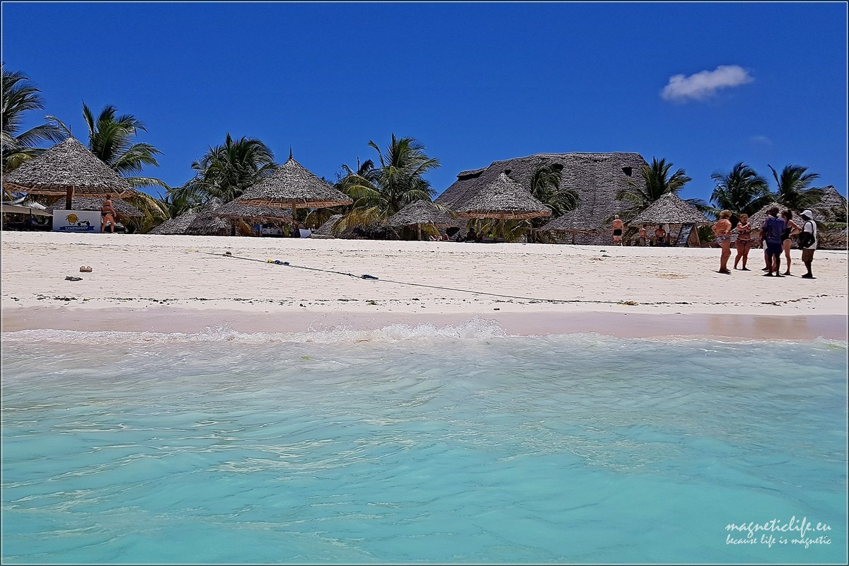 Zachodnie wybrzeże Zanzibaru. Kendwa Rock