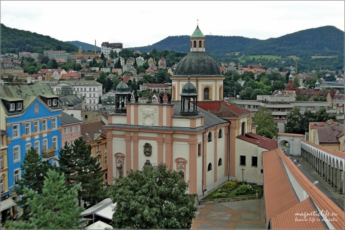 Děčín kościół św Jerzego
