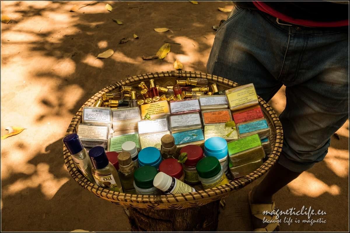 Kizimbani farma przypraw naZanzibarze. Przyprawy iperfumy