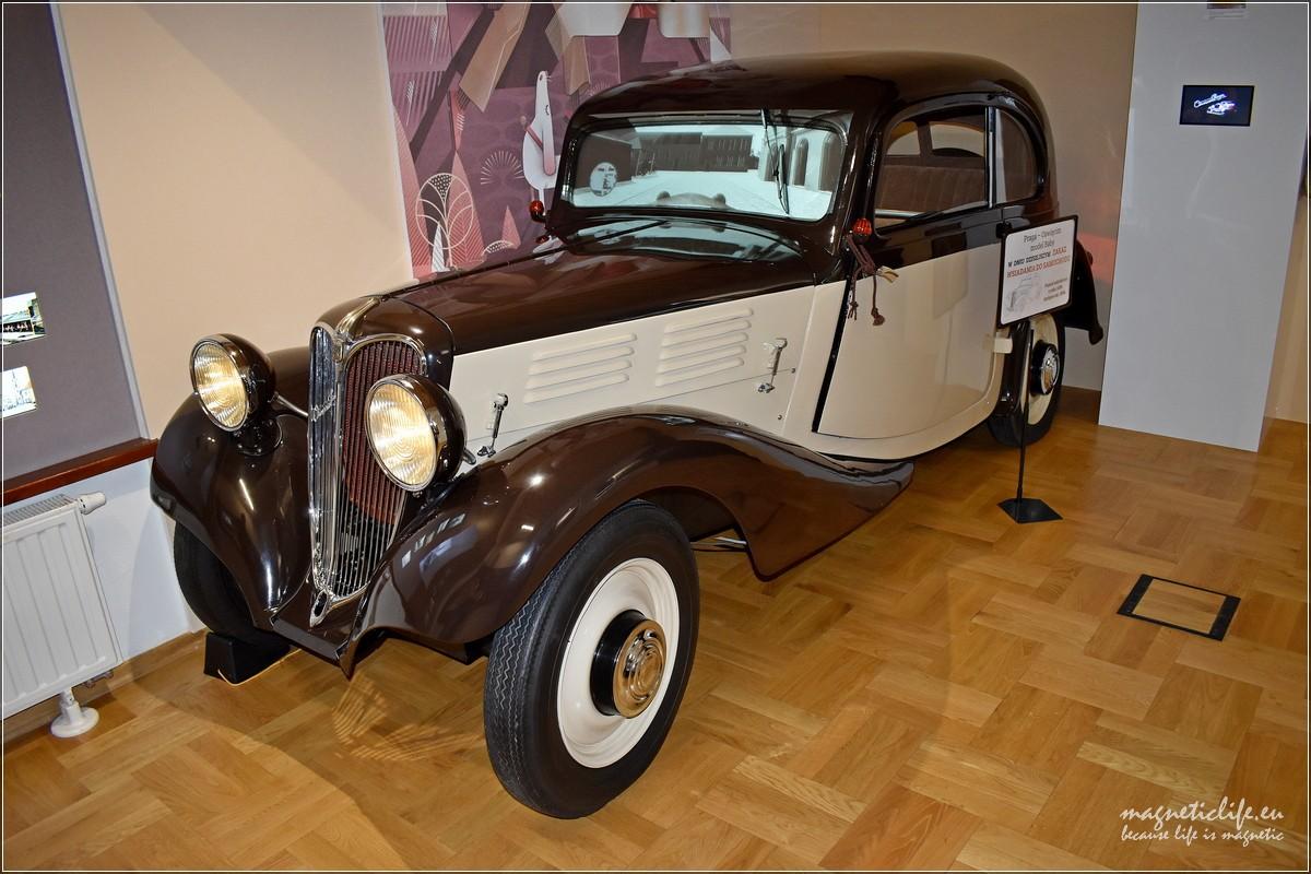 Samochód Oświęcim Praga