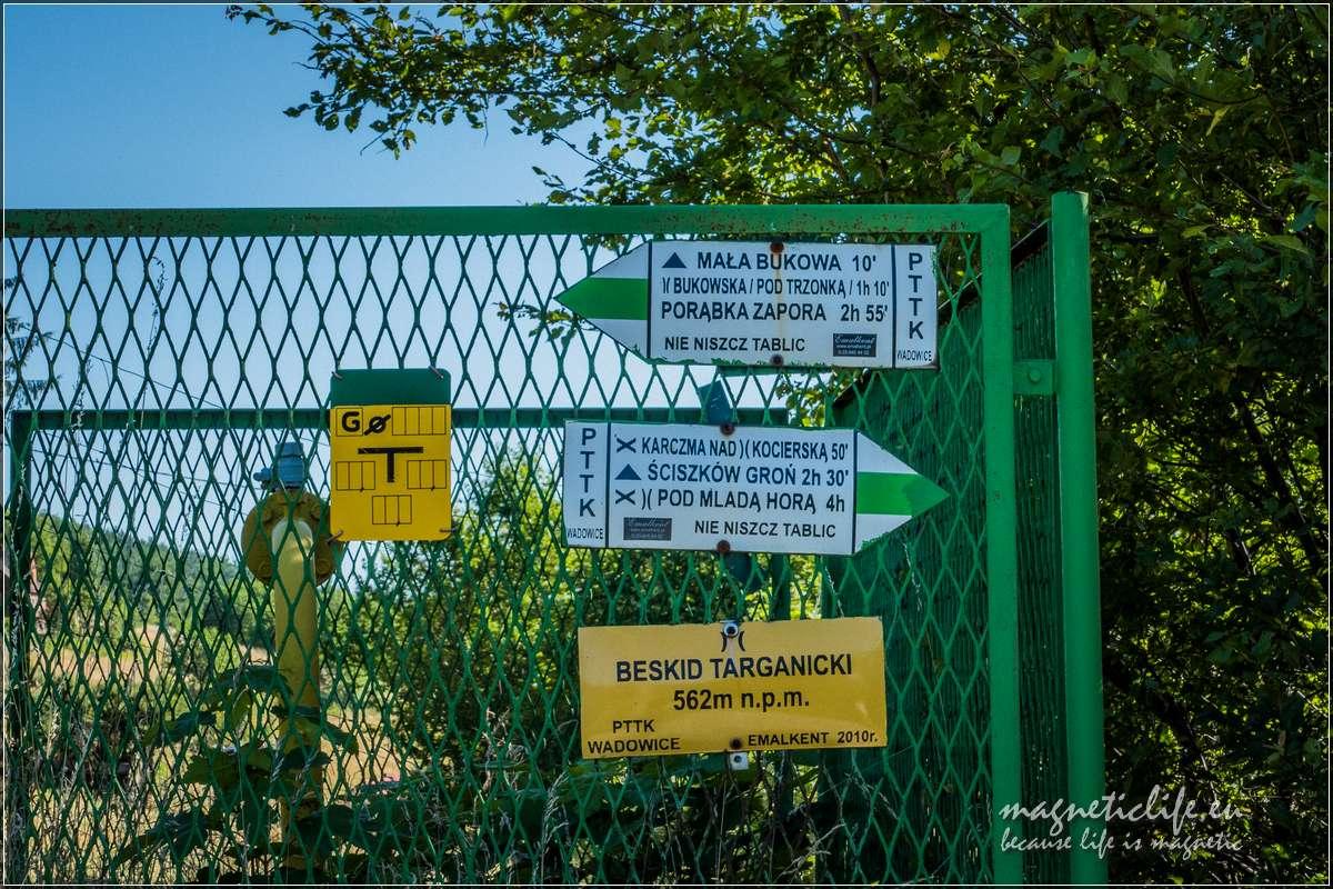 Szlaki naBeskidzie Targanickim