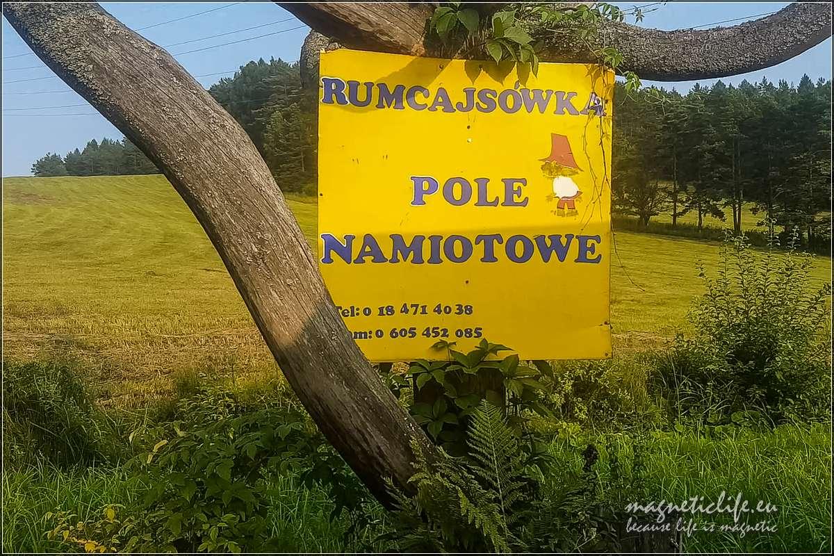 Kamping Rumcajsówka Złockie koło Muszyny