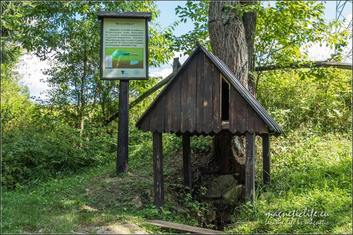 Atrakcje turystyczne wokół Muszyny Mofeta Złockie Bulgotka