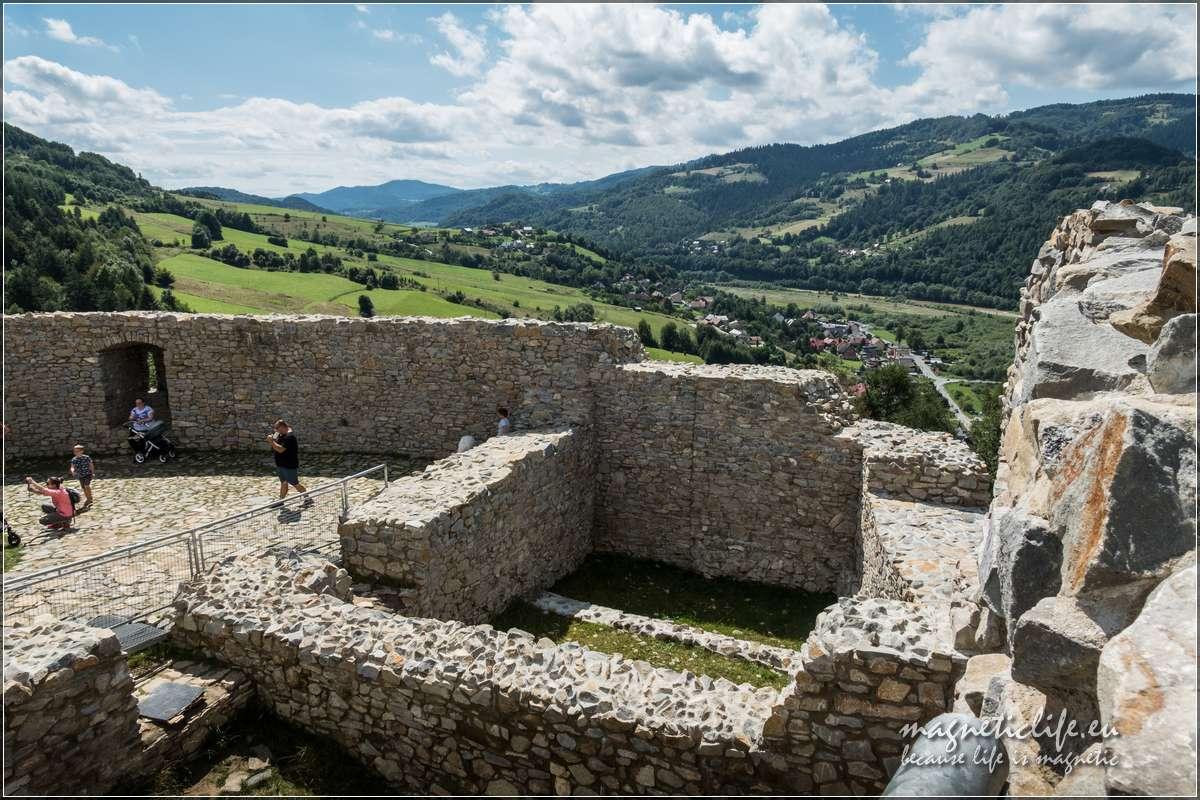 Zamek Rytro ruiny