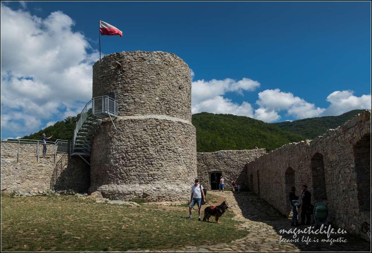Zamek Rytro wieża