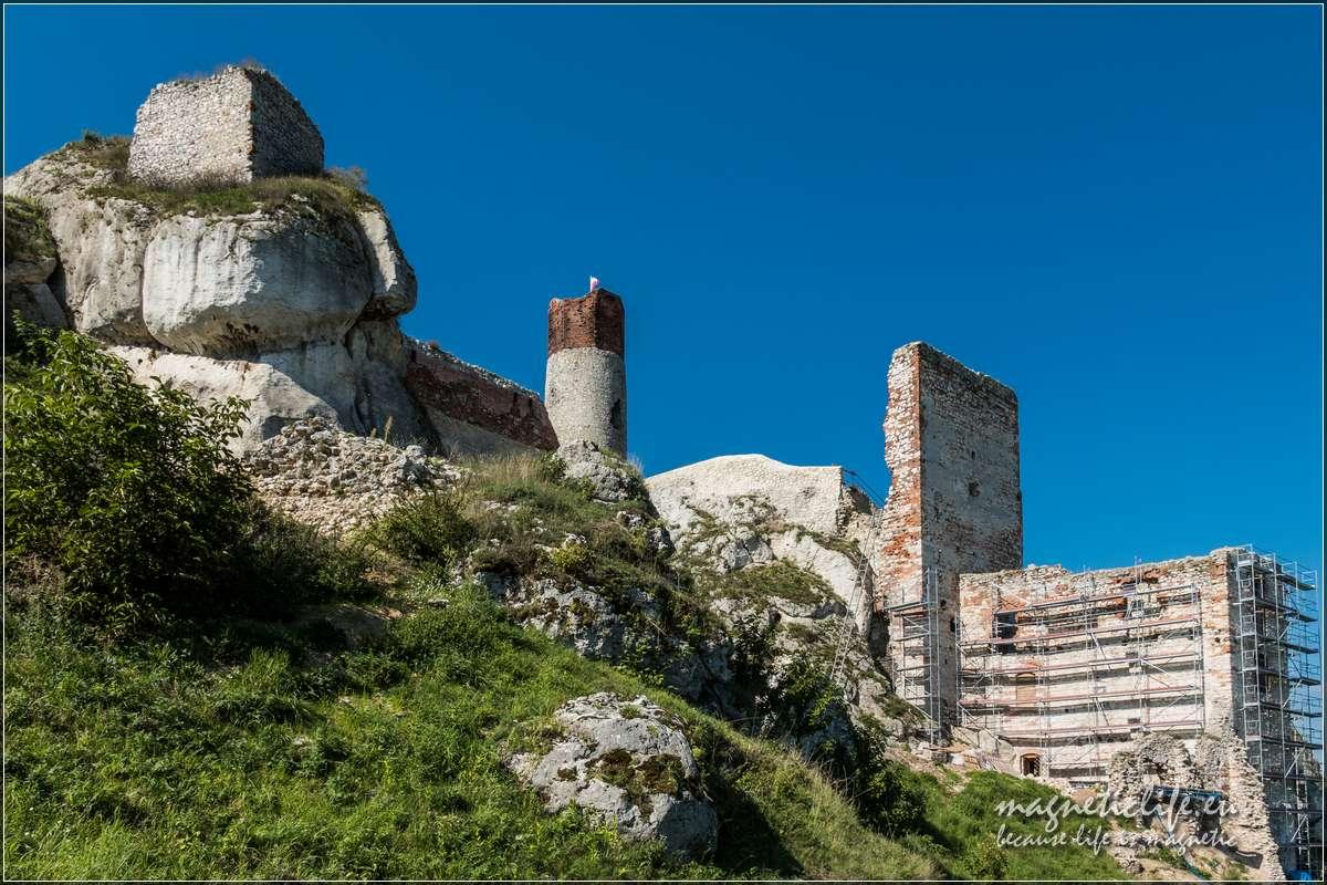 Zamek wOlsztynie