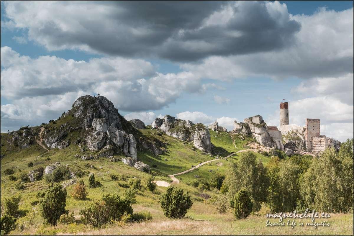 Zamek wOlsztynie naSzlaku Orlich Gniazd