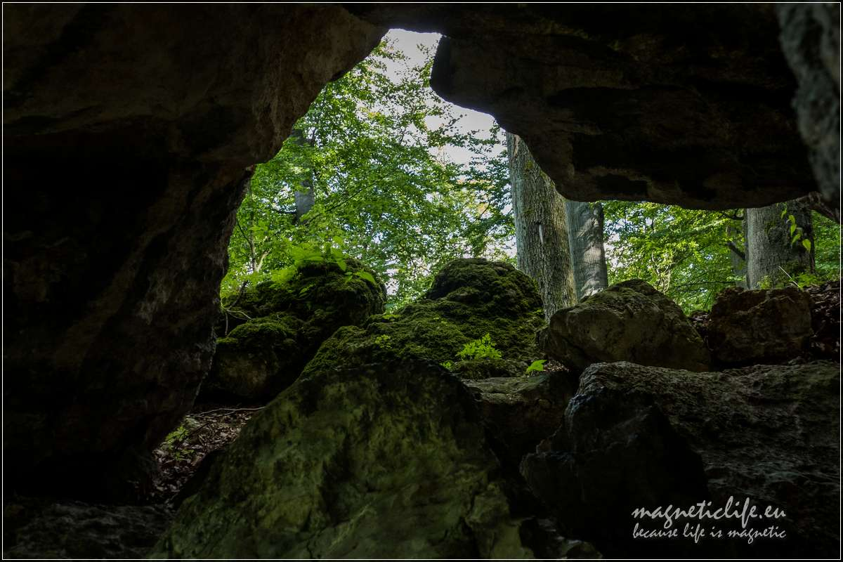 Skałki Jurajskie Góry Sokole brama