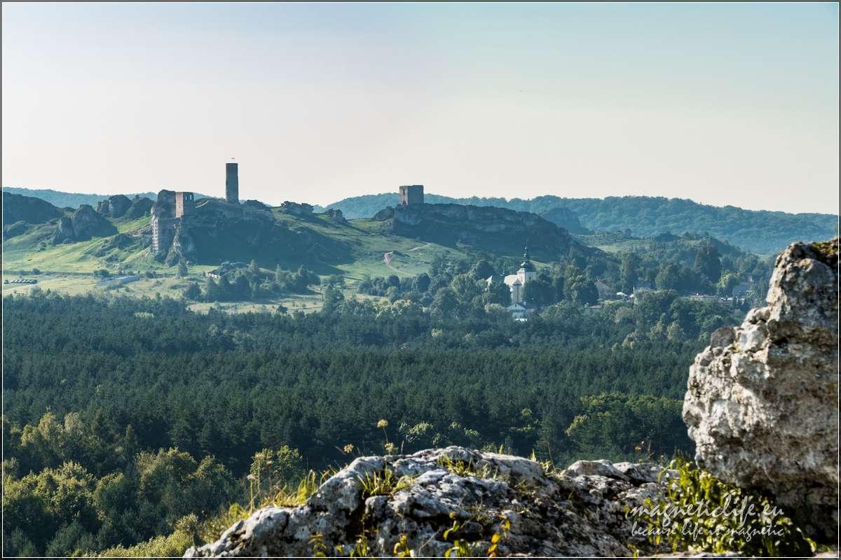 Zamek Olsztyn zgór Towarnych