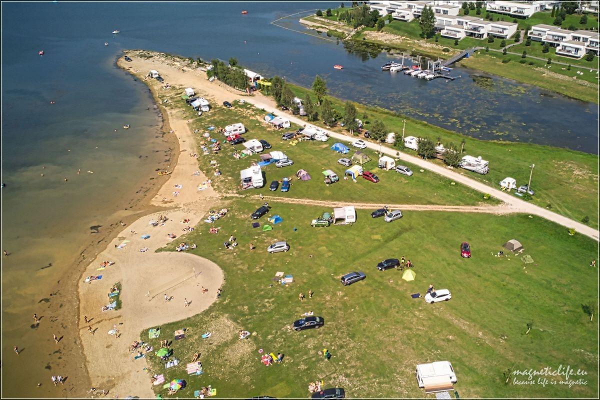 Jezioro Rożnowskie Camping Gródek nadDunajcem