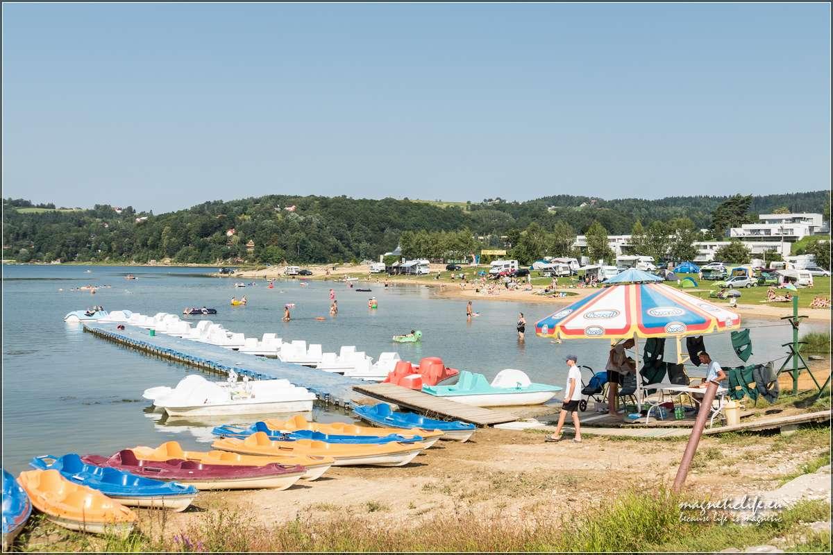 Jezioro Rożnowskie wypożyczalnia sprzętu