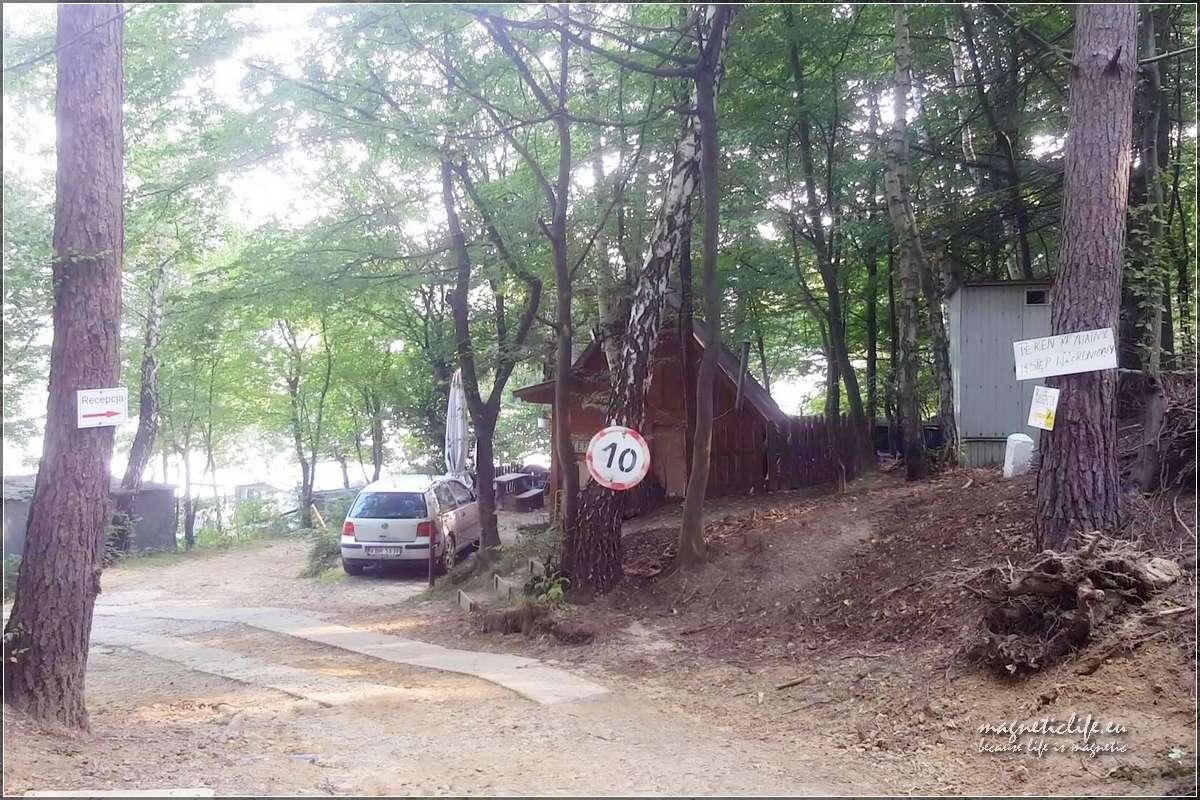 Pole namiotowe Tabaszowa recepcja