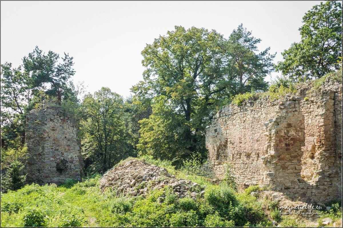 Pozostałości murów obronnych