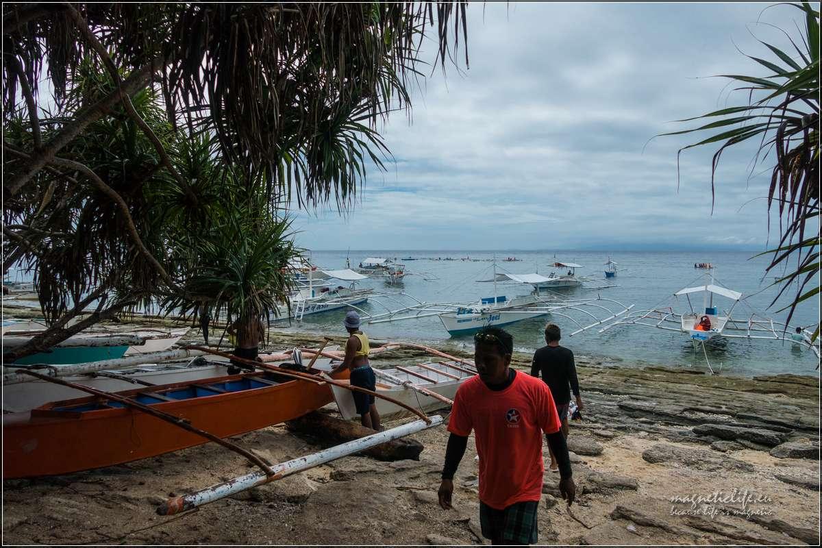 Island Hopping przygotowania dowypłynięcia
