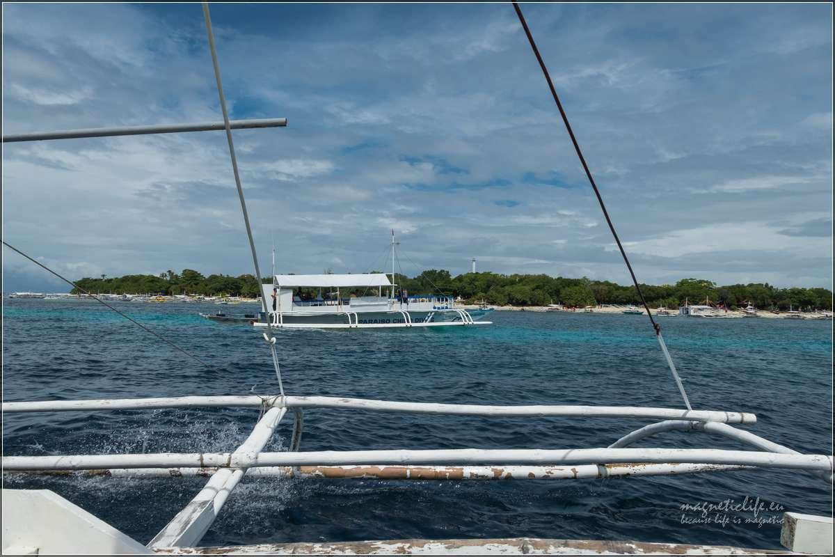 Island Hopping wyspa Balicasag