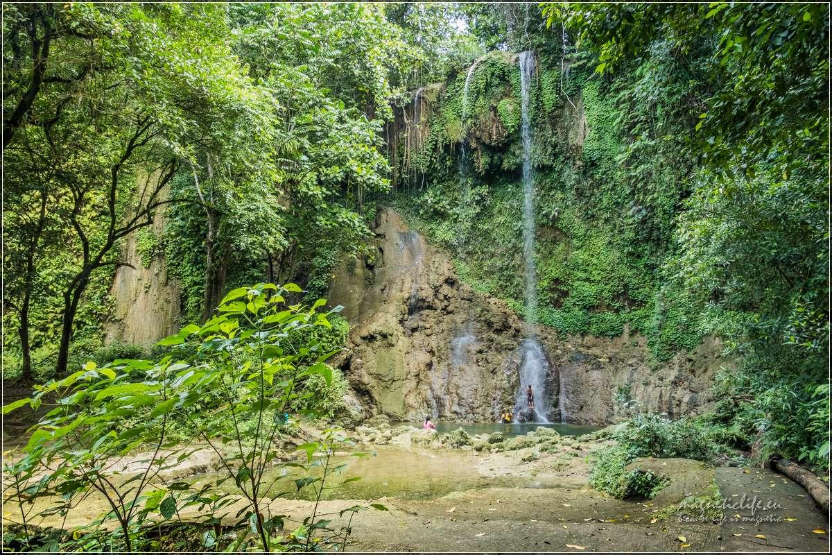 Bohol wodospad Kawasan