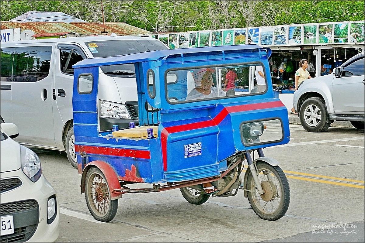 Panglao. Najtańszy środek transportu
