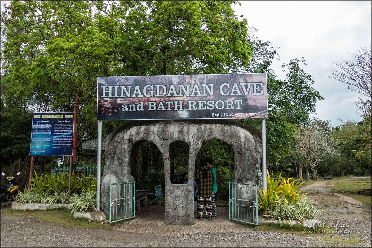 Panglao Jaskinia Hinagdanan wejście