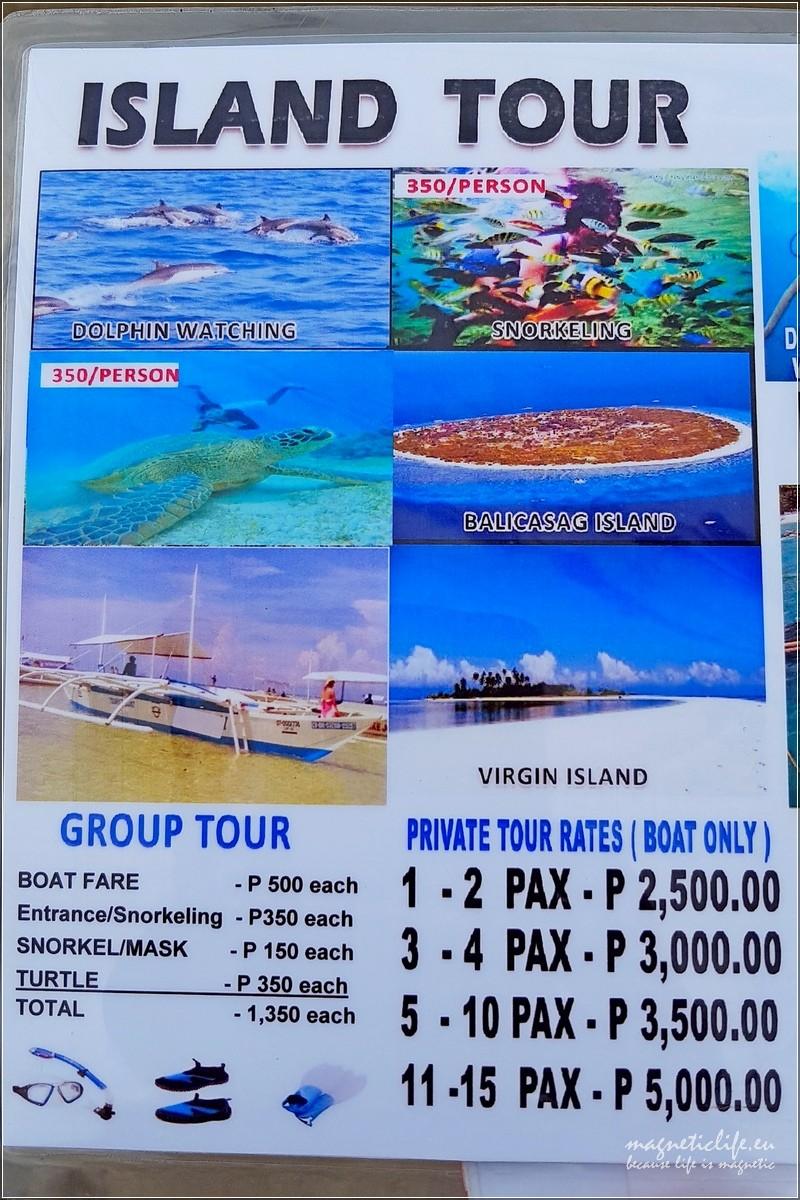 Panglao reklama wycieczek