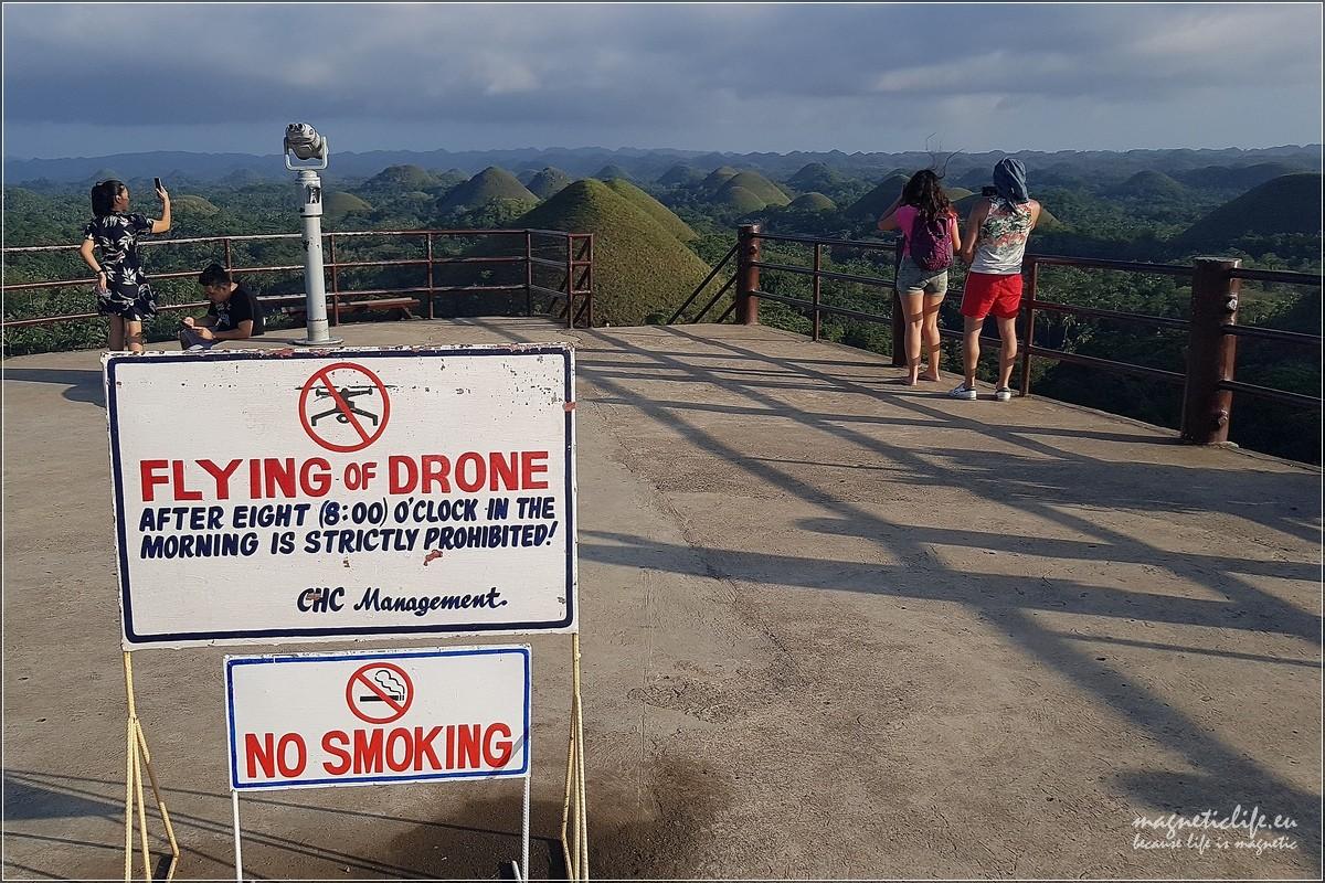 Zakaz latania dronem