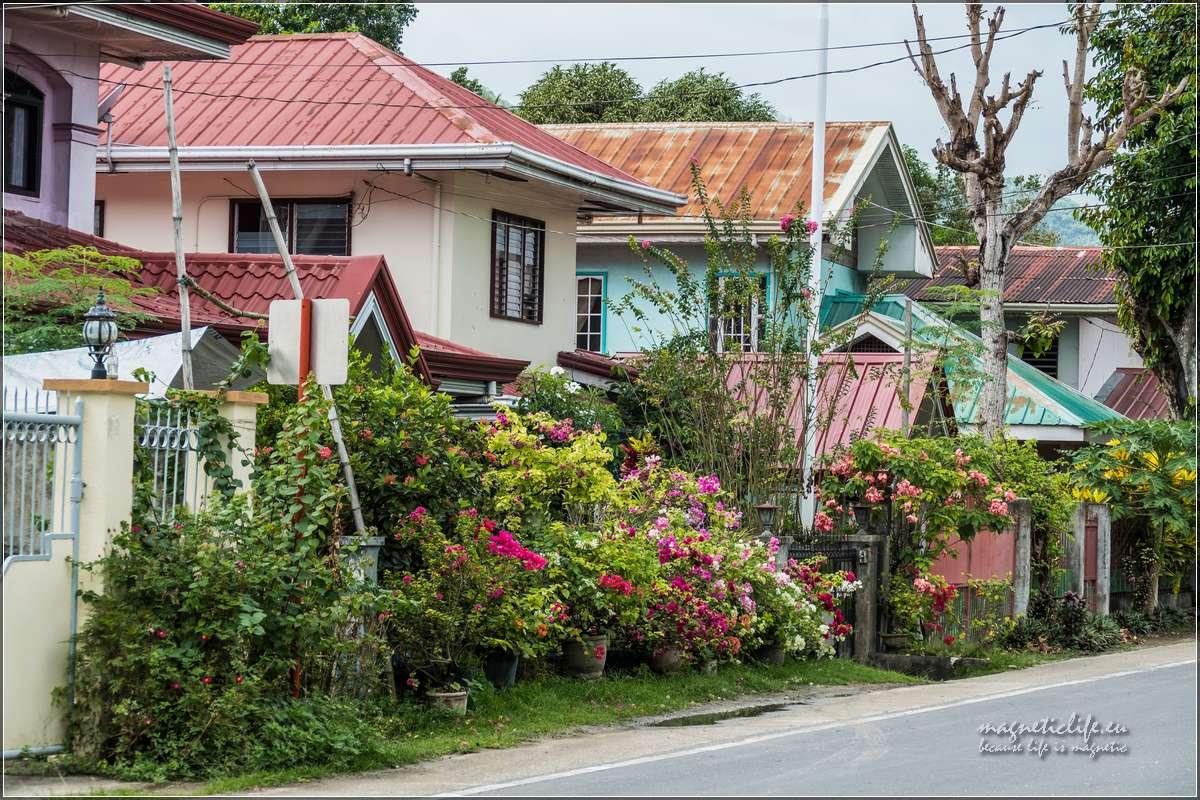 Loboc Domy przy głównej ulicy