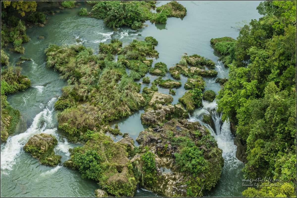 Wodospady narzece Loboc