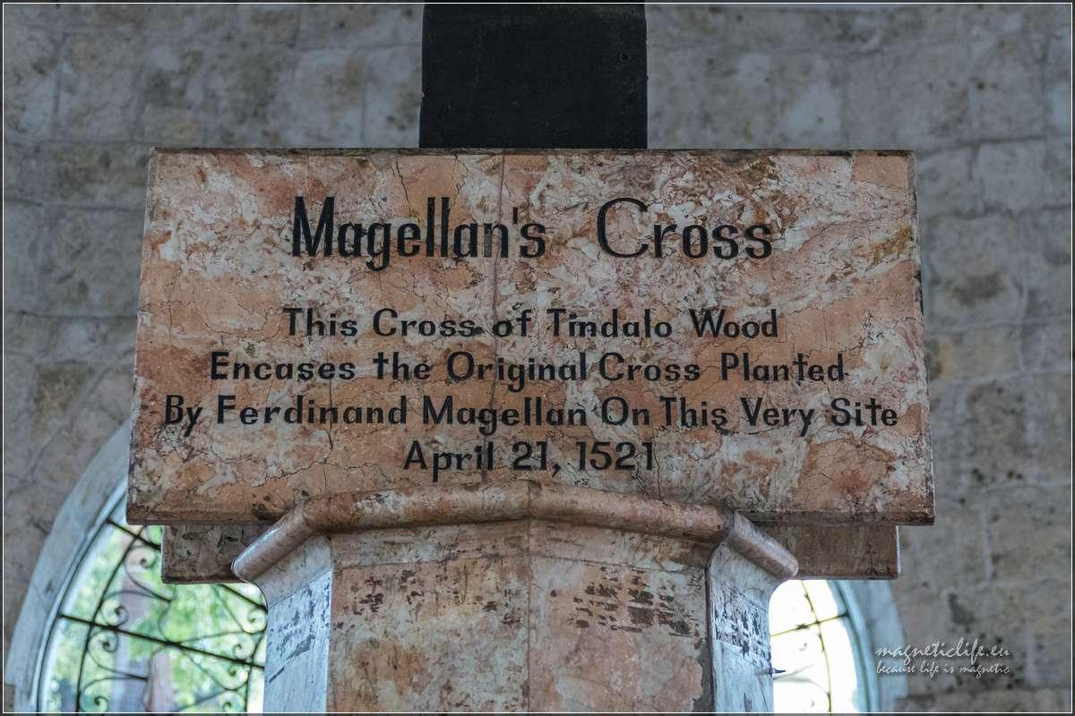 Cebu tablica nakrzyżu Magellana